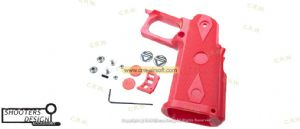 Shooters Design SV/STI Real Grip for Marui Hi-Capa 5.1 (Red)
